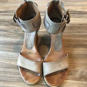 Miz Mooz Leather Wedges size 38